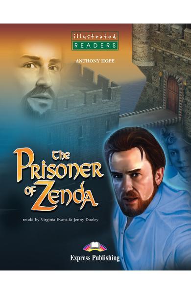 Literatură adaptată pt. copii benzi desenate the prisoner of zenda cu cd
