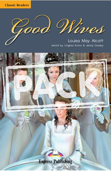 Literatura adaptata pt.copii Good Wives - Pachetul elevului (carte + audio CD) 978-1-84974-128-6