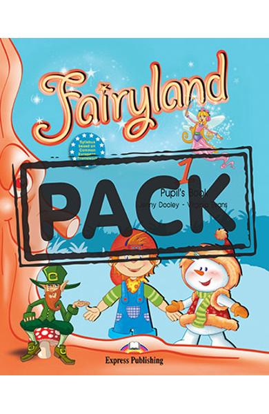 Curs limba engleză Fairyland 1 Pachetul elevului (manual+Multi-ROM)