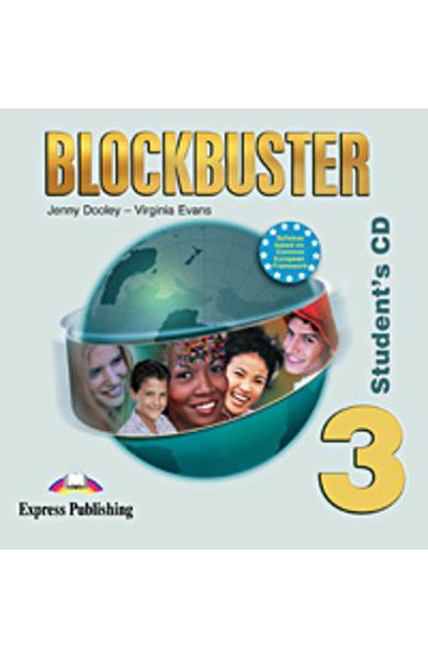 Curs limba engleză Blockbuster 3 Audio CD elev