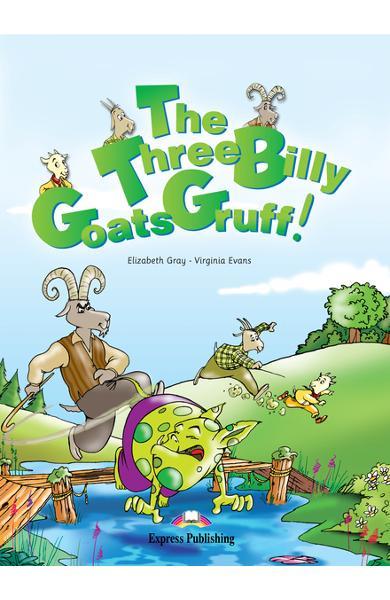 Literatură adaptată The Three Billy Goats Gruff cu CD 978-1-84558-161-9