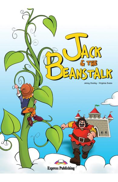 Literatură adaptată Jack and the Beanstalk cu CD