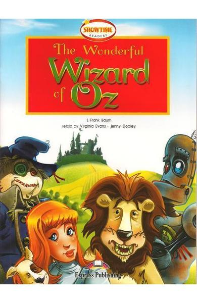 Literatură adaptată pt. copii the wonderful wizard of oz cu cd