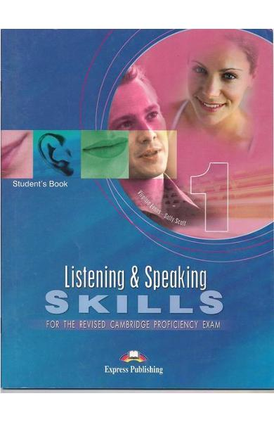 Teste lb. engleza cpe listening and speaking skills 1 manualul elevului