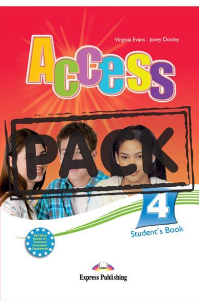 Curs limba engleza Access 4 Pachetul elevului ( Manual + IeBook)