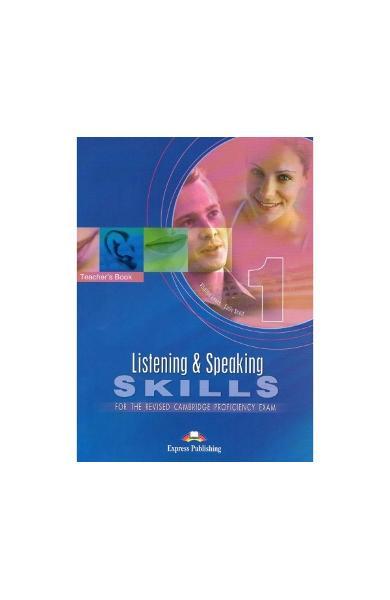 Curs limba engleza examen Cambridge CPE listening and speaking skills 1 Manualul Profesorului 2008 978-1-84325-541-3