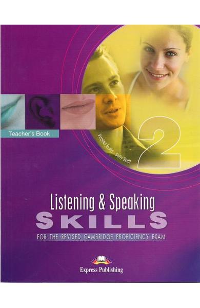 Teste lb. engleza cpe listening and speaking skills 2 manualul profesorului