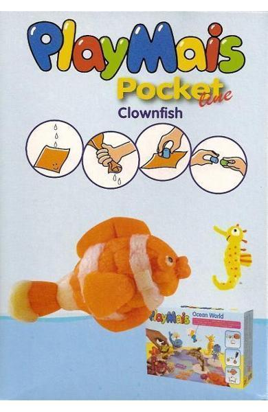 Material de construit şi modelat playmais pochet line clownfish