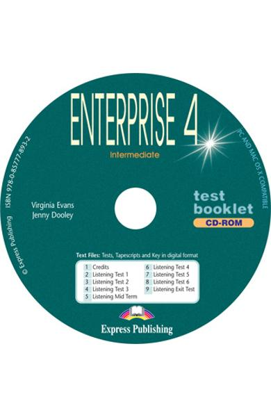Curs limba engleză Enterprise 4 Tests CD-ROM 978-0-85777-893-2