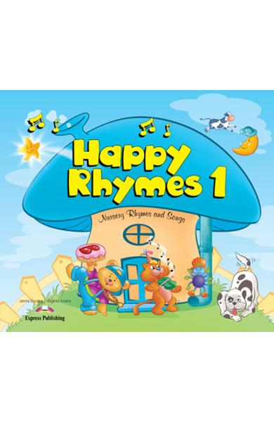 Curs limba engleză Happy Rhymes 1 Carte uriaşă
