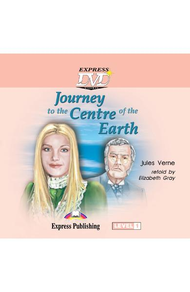 Literatură adaptată pentru copii - Journey to the Centre of the Earth DVD 978-1-84558-789-5
