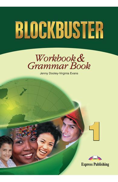 Curs limba engleză Blockbuster 1 Caietul elevului și gramatică