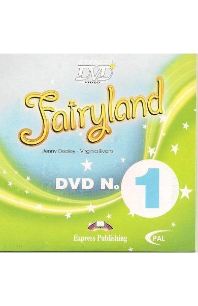 Curs limba engleză Fairyland 1 DVD