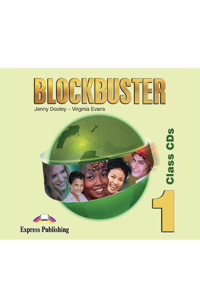 Curs limba engleză Blockbuster 1 Audio CD (set 4 CD-uri)