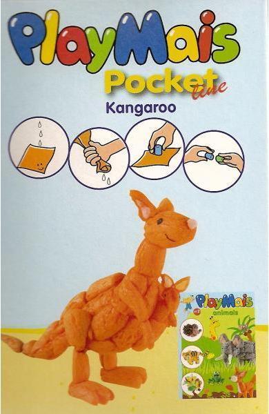 Material de construit şi modelat playmais pochet line kangaroo