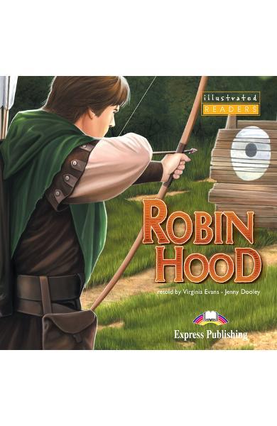 Literatură adaptată pt. copii benzi desenate Robin Hood DVD