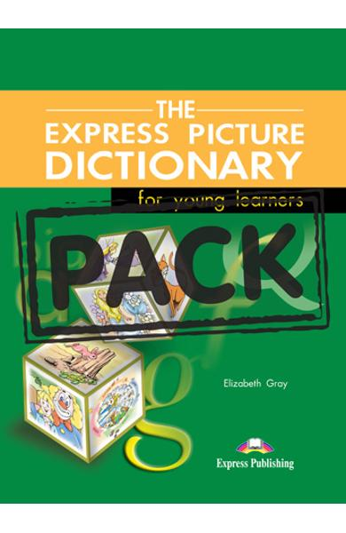 Dicționar ilustrat The Express Picture Dictionary Pachetul elevului