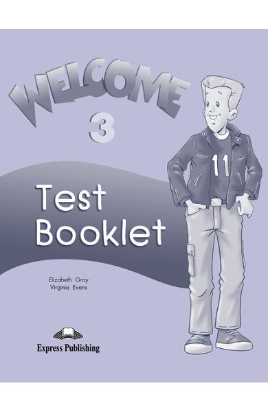 Curs limba engleză Welcome 3 Teste 978-1-84325-304-4