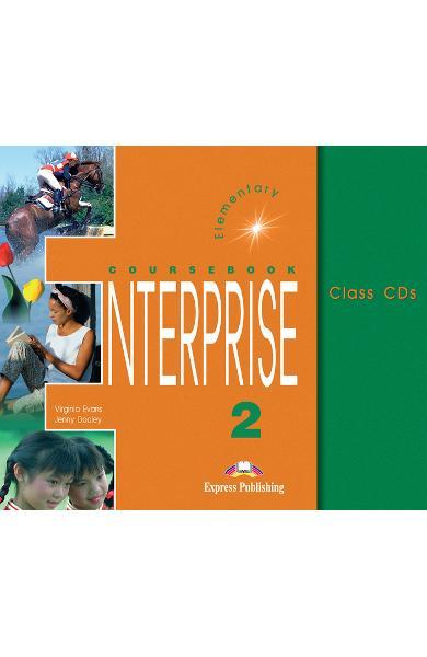 Curs limba engleză Enterprise 2 Audio CD (set 3 CD) 978-1-84216-115-9