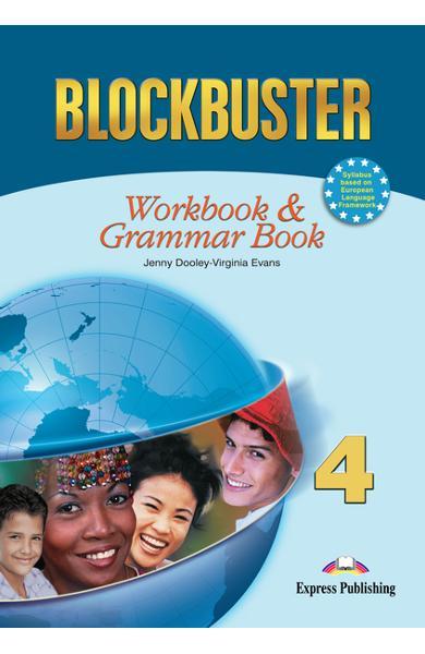 Curs limba engleză Blockbuster 4 Caietul elevului şi gramatică