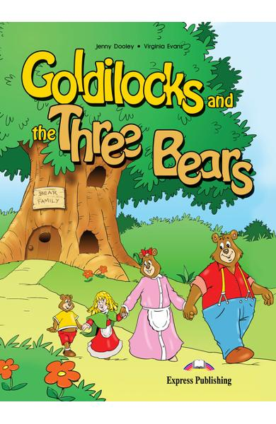 Literatură adaptată Goldilocks and the Three Bears cu CD