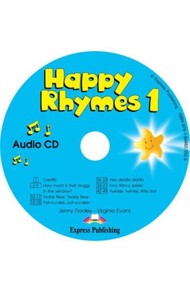 Curs limba engleză Happy Rhymes 1 Audio CD