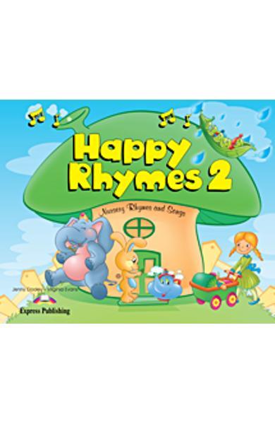 Curs limba engleză Happy Rhymes 2 Carte uriaşă