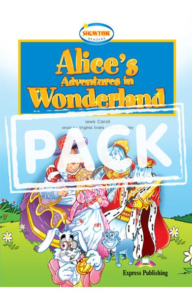 Literatura adaptata pt.copii - Alice's Adventures in Wonderland - Set: Carte + MULTI-ROM 978-1-84974-594-9