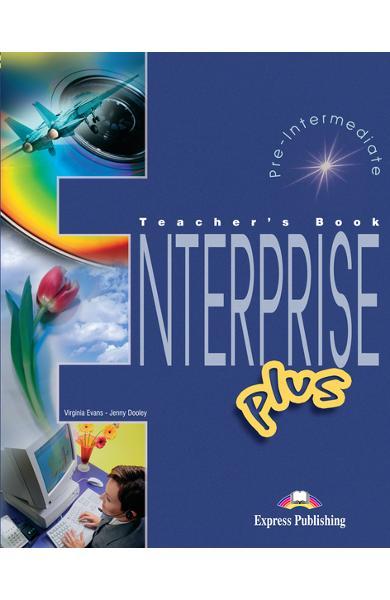 Curs limba engleză Enterprise Plus Manualul profesorului 978-1-84325-813-1