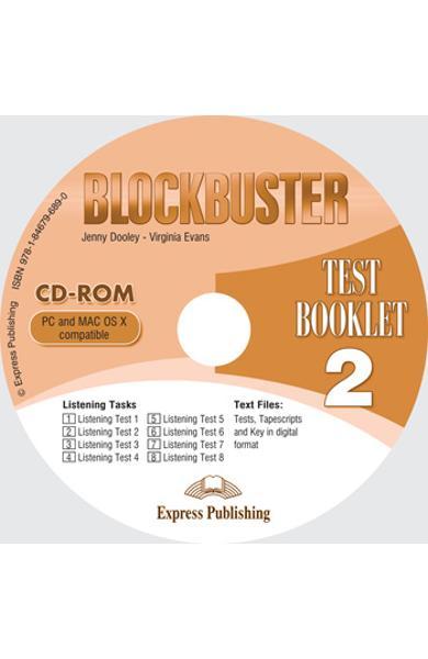 Curs limba engleză Blockbuster 2 Audio CD cu teste