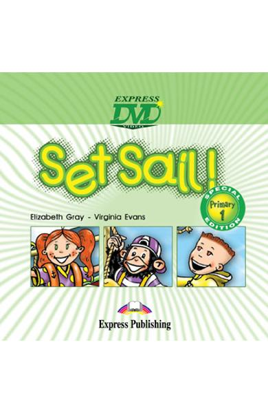 Curs limba engleză Set Sail 1 DVD