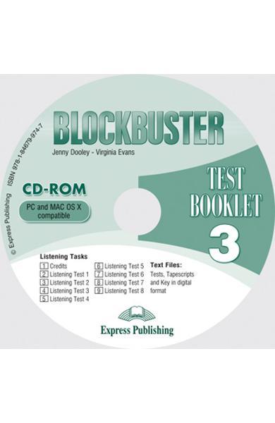 Curs limba engleză Blockbuster 3 CD-ROM cu teste
