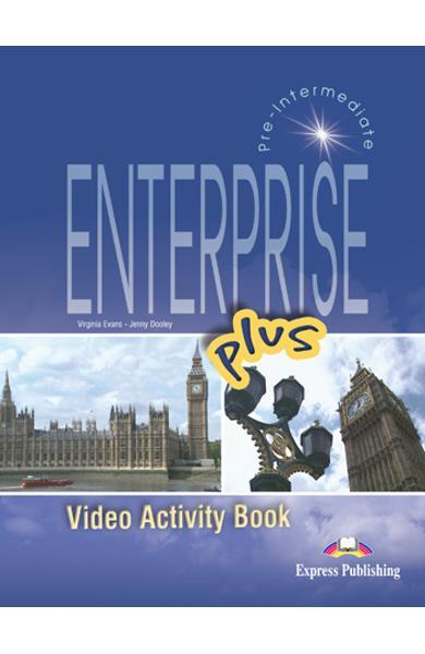Curs limba engleză Enterprise plus DVD la caietul elevului 978-1-84466-169-5
