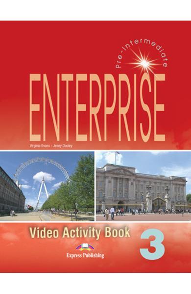 Curs limba engleză Enterprise 3 Caiet de activitati video 978-1-84466-197-8