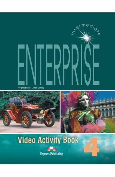 Curs limba engleză Enterprise 4 Caiet de activitati video 978-1-84466-143-5