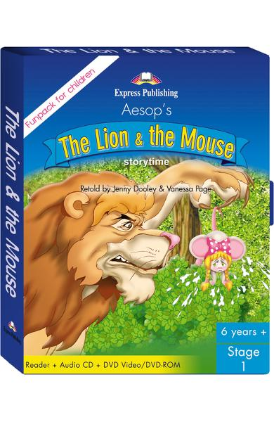 Literatură adaptată The Lion and the Mouse Fun Pack
