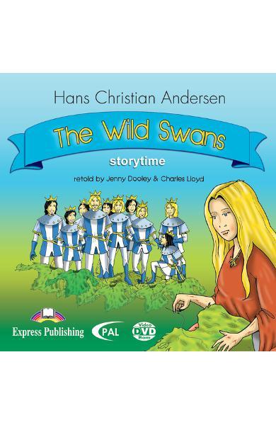 Literatură adaptată pentru copii - The wild swans DVD