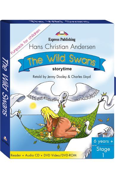 Literatură adaptată The Wild Swans Fun Pack