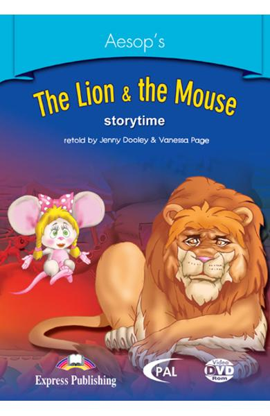 Literatura adaptata pt.copii - The Lion and the Mouse - DVD ROM 978-1-84558-243-2