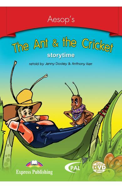 Literatură adaptată pt. copii the ant and the cricket dvd rom