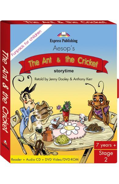 Literatură adaptată The Ant and the Cricket Fun Pack