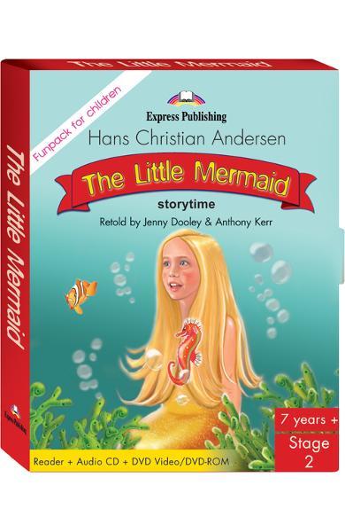 Literatură adaptată The Little Mermaid Fun Pack