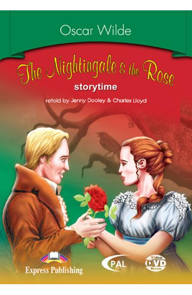 Literatura adaptata pt.copii - The Nightingale and the Rose - DVD ROM 978-1-84558-244-9