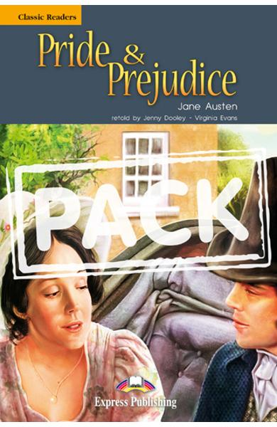 Literatura adaptata pt.copii - Pride and Prejudice - Set: Carte+ AUDIO CD 978-1-84862-949-3