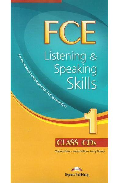 Teste limba engleză FCE Listening and Speaking Skills 1 Audio CD (set 10 CD)