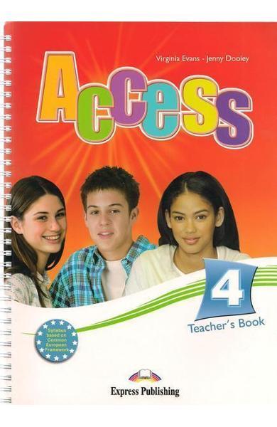 Curs limba engleză Access 4 Manualul profesorului