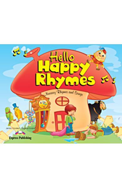 Curs limba engleză Hello Happy Rhymes Manualul elevului