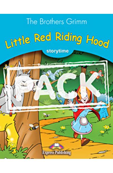 Literatura adaptata pt. copii Little Red Riding Hood - set cu multi-rom (carte + multi-rom)