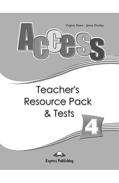 Curs limba engleza Access 4 Material aditional ptr. profesor cu teste