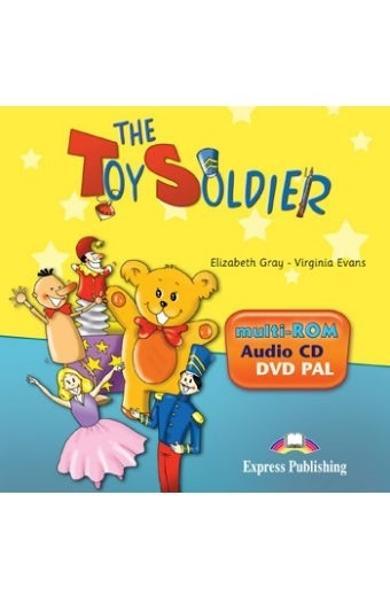 Literatura adaptata pt. copii The Toy Soldier DVD pal 978-1-84862-406-1
